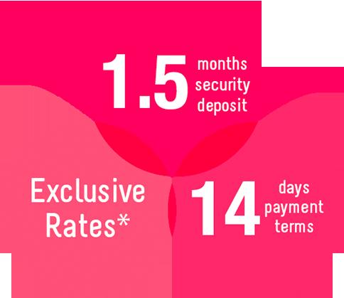 Exclusive rates
